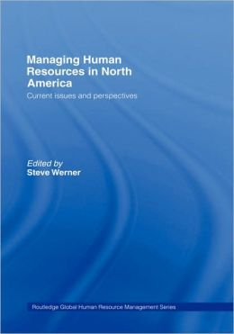 Managing Human Resources In North America