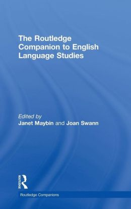 The Routledge Companion to English Language Studies