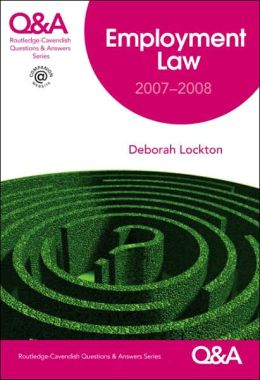 Qa Employment Law 2007-2008 5/E