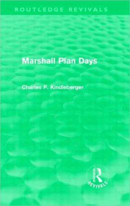 Marshall Plan Days (Routledge Revivals)