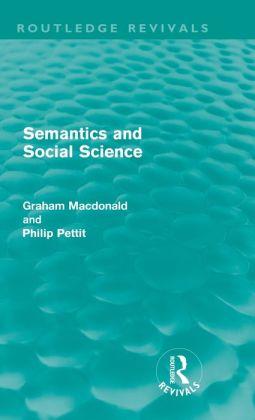 Semantics and Social Science