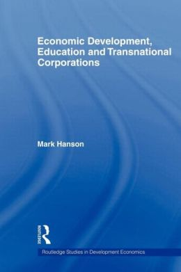 Economic Development, Education and Transnational Corporations