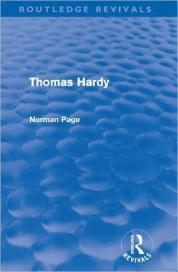 Thomas Hardy (Routledge Revivals)