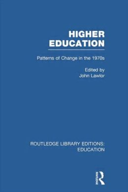 Higher Education: Patterns of Change in the 1970s