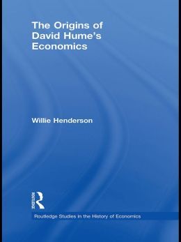 The Origins of David Hume's Economics