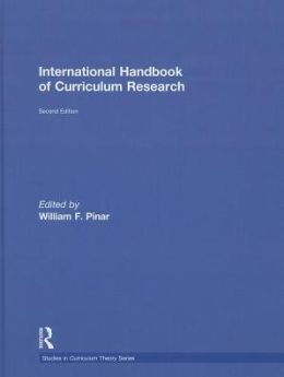 International Handbook of Curriculum Research
