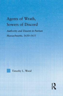 Agents Of Wrath, Sowers Of Discord