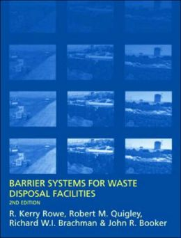 Barrier Systems for Waste Disposal Facilities