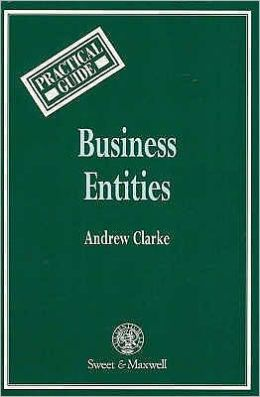 Business Entities: A Practical Guide