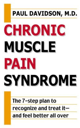 Chronic Muscle Pain Syndrome
