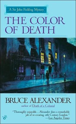 The Color of Death (Sir John Fielding Series #7)