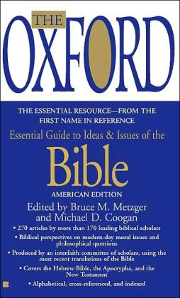 The Oxford Essential Guide to Ideas and Issues of the Bible