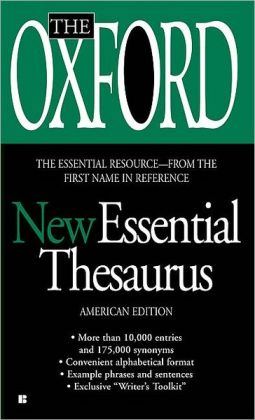 The Oxford New Essential Thesaurus