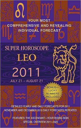 Super Horoscopes Leo 2011