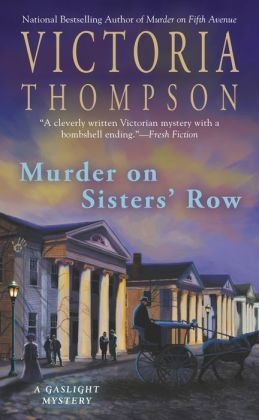 Murder on Sister's Row (Gaslight Mystery Series #13)