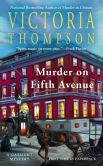 Book Cover Image. Title: Murder on Fifth Avenue (Gaslight Series #14), Author: Victoria Thompson