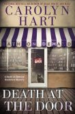 Book Cover Image. Title: Death at the Door, Author: Carolyn G. Hart