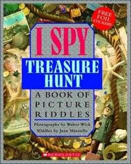 I spy books treasure hunt