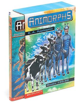 Animorphs Series Boxed Set: The Extreme; The Attack; The Exposed; The Experiment