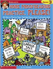Funnybone Books: More Proofreading Practice, Please!: Grade 3