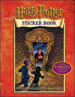 Mysterious Halls of Hogwarts: Harry Potter Sticker Book