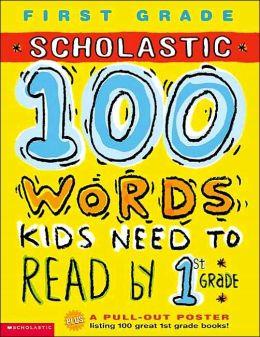 100 Words Workbook: 1st Grade