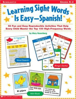 Learning Sight Words Is Easy-Spanish