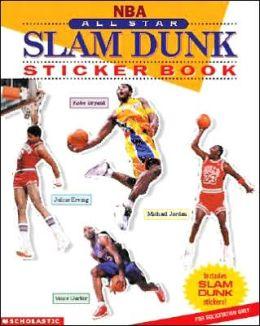 All-Star Slam Dunk Sticker Book