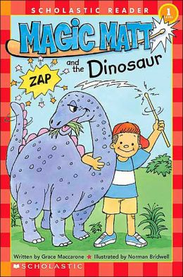 Magic Matt and the Dinosaur (Scholastic Reader Series)