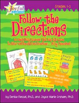 FOLLOW THE DIRECTIONS GR1-3