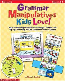 Grammar Manipulatives Kids Love!