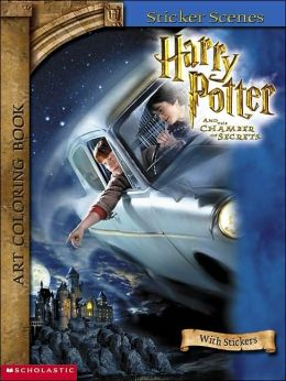 Harry Potter Art Coloring Books #2: Sticker Scenes