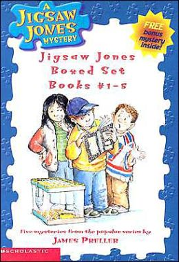 Jigsaw Jones Boxed Set #1 - #5