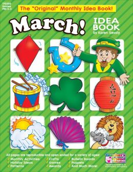 Monthly Idea Books March Pre K-3