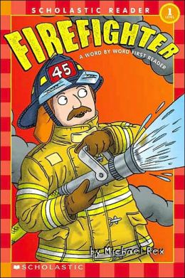 Firefighter (Word by Word First Reader Series)