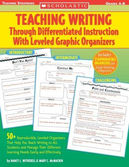 Teaching Writing Through Differentiated Instruction with Leveled Graph