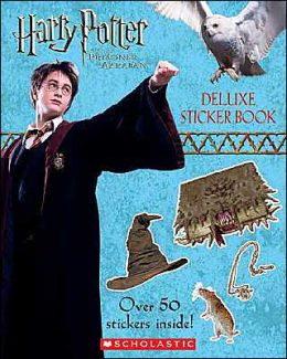 Harry Potter and the Prizoner of Azkaban: Deluxe Sticker Book