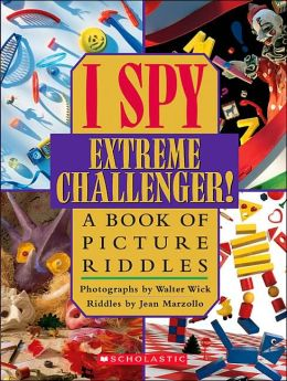 I Spy Extreme Challenger By Jean Marzollo 9780439684217