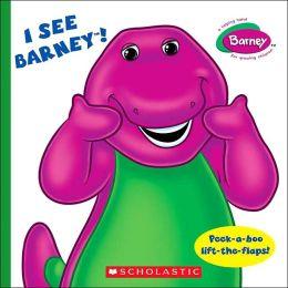I See Barney!: Peel-a-Boo (Barney Series)