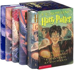Harry Potter Hardcover Boxed Set Books 1 5 By J K