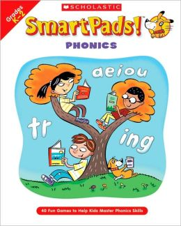 SmartPads! Phonics: 40 Fun Games to Help Kids Master Phonics Skills