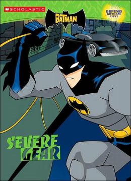 Batman Severe Gear: Color Activity Book #2