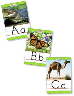Animals From A to Z Alphabet Set: Manuscript: 26 Ready-to-Display Letter Cards With Fabulous Photos of Animals, Grades K-3