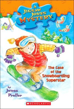 The Case of the Snowboarding Superstar (Jigsaw Jones Series #29)