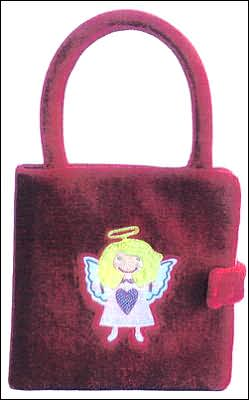 Angel Book And Purse