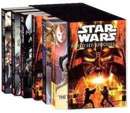 Star Wars: Boxed Set (6 Movie Novelizations)