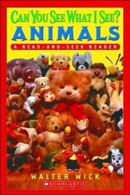 Animals: Read-and-Seek Level 1 (Can You See What I See? Series)