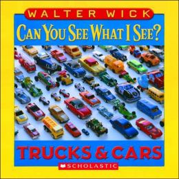 Trucks and Cars: Picture Puzzles to Search and Solve (Can You See What I See? Series)