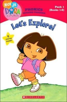 Let's Explore! (Books 1 - 6) (Dora the Explorer Series)