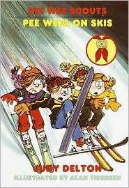 Pee Wees on Skis (Pee Wee Scouts Series #21)